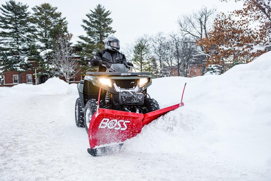 Schneepflug - The Boss ATV-min