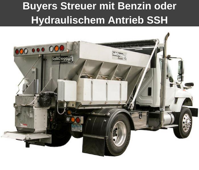 Buyers Streuer mit Benzin oder Hydraulischem Antrieb SSH