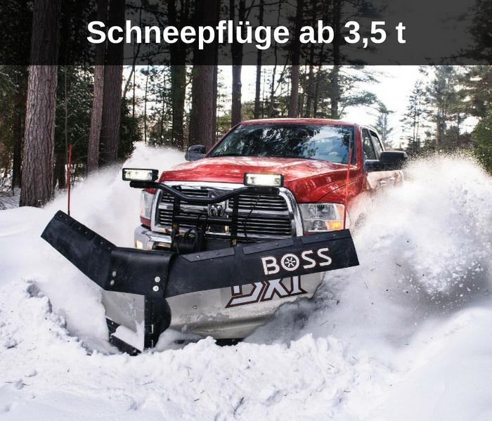Schneepflüge ab 3,5 t