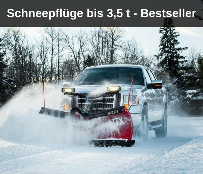 Schneepflüge bis 3,5 t - Bestseller