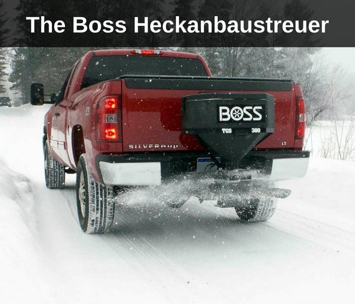 The Boss Heckanbaustreuer
